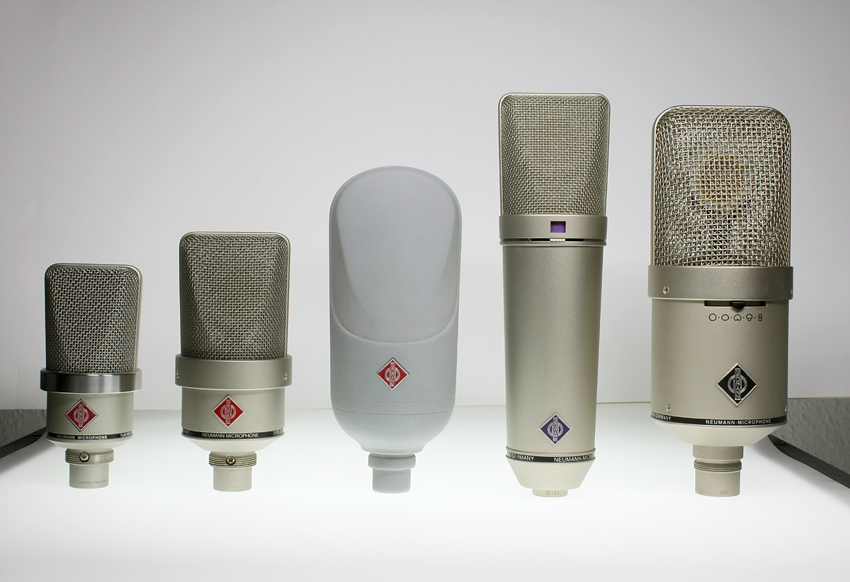 TLM107 Microphone design for Neumann / making of