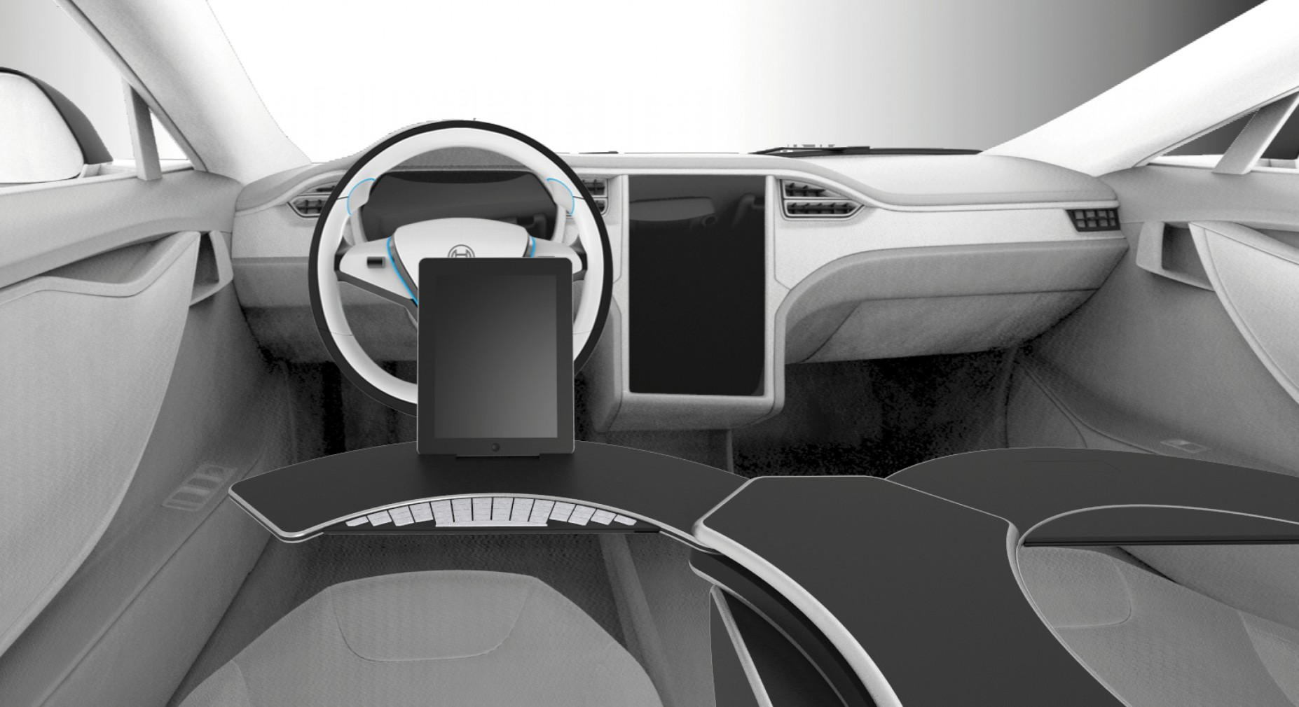 Bosch-Steering Wheel -Armrest5