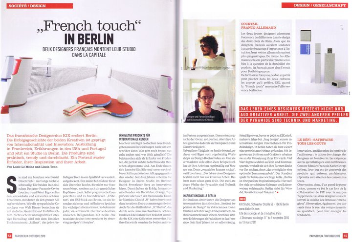 Paris Berlin – French Touch in Berlin