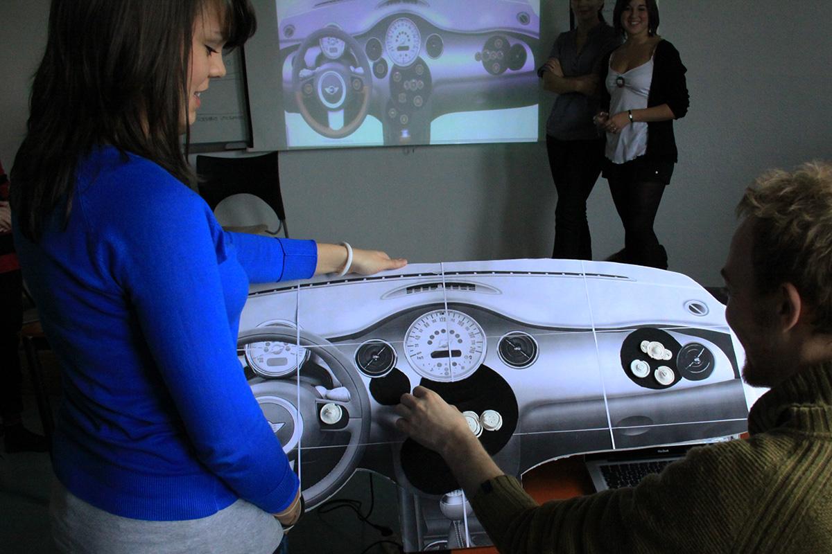 Future of Car Interface – Creative Lab @ Rubika Valenciennes