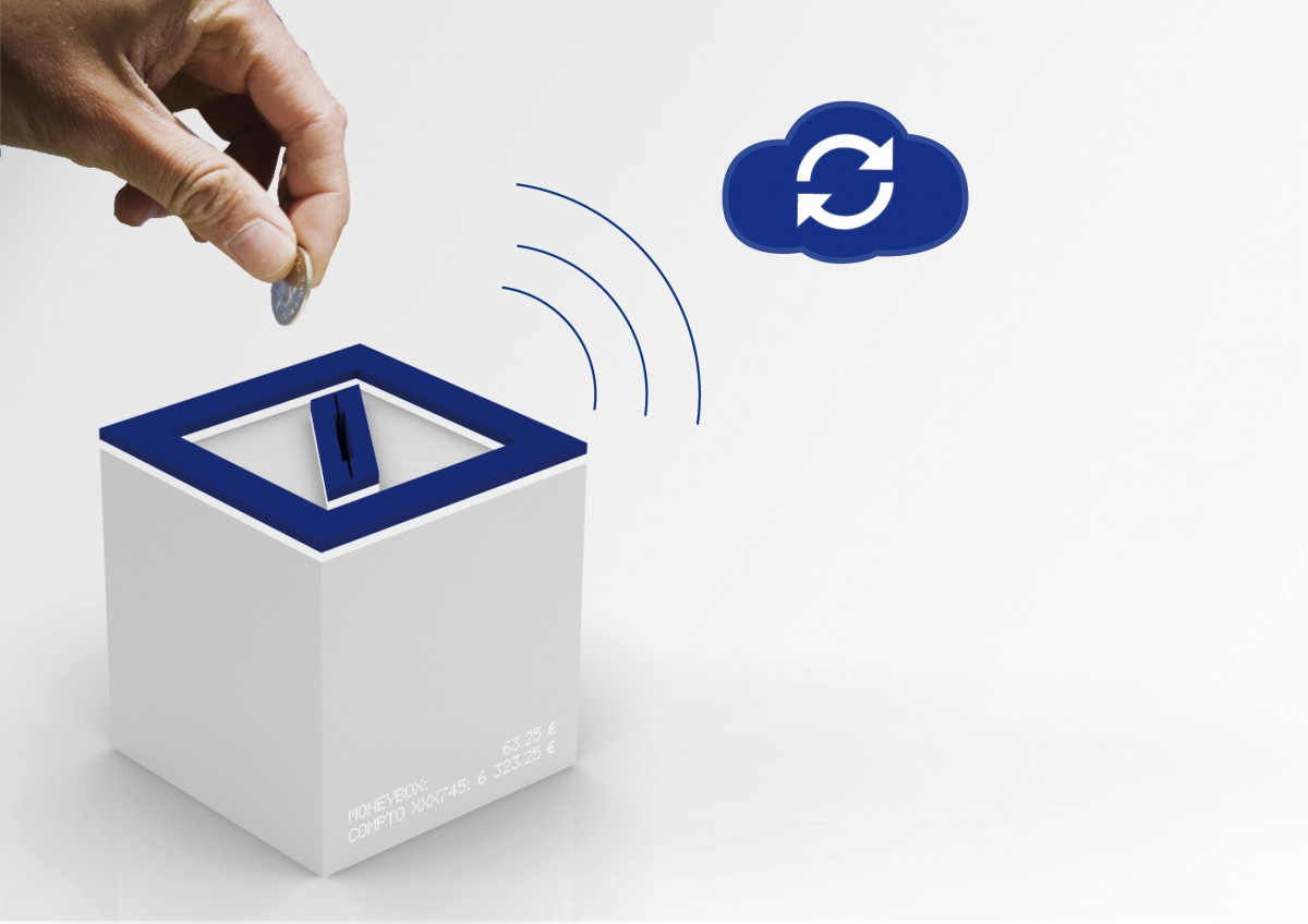 Design Boom - Deutsche Bank future of banking - S-saving Box